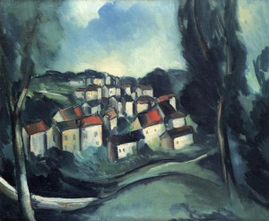 The Beautiful Village by Maurice de Vlaminck, 1911