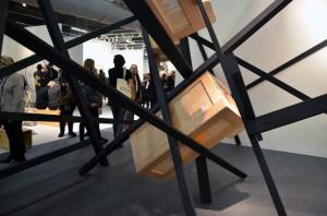 Serge Alain Nitegeka. Armory Show installation. Photo © Kristina Nazarevskaia