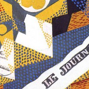 Juan Gris, Newspaper and Fruit Dish, 1916
