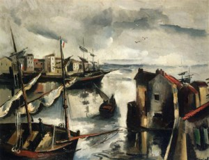 Maurice de Vlaminck, Fishing Port, 1911