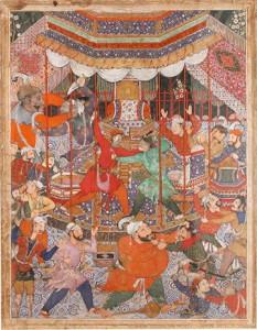 Met Museum, Anvari's Divan: A Pocket Book for Akbar