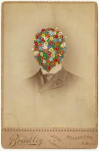 Butler, Tom 'Bradley', 2014 Gouache on Albumen print 16.5x10.5cm
