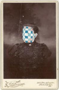 Butler, Tom 'Frankie', 2014 Gouache on Albumen print 16.5x10.5cm