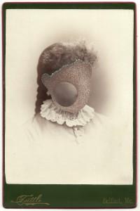 Butler, Tom 'Lettie', 2013 Gouache on Albumen print 16.5x10.5cm