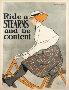 Edward Penfield, Ride a STEARNS and be content, 1896