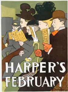 Edward Enfield's Harper's February, (1895)