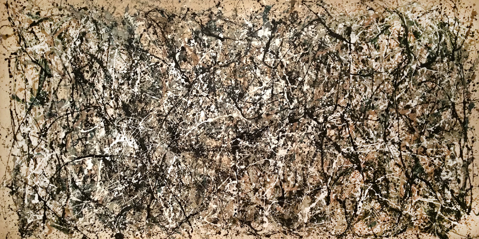 Jackson Pollock, Number 31 Enamel on unprimed canvas