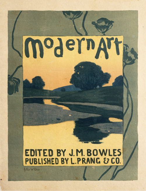 Modern Art, Lithograph Arthur Wesley Dow, 1895
