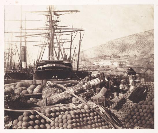 The Ordnance Wharf, Balaklava, 1855, Roger Fenton
