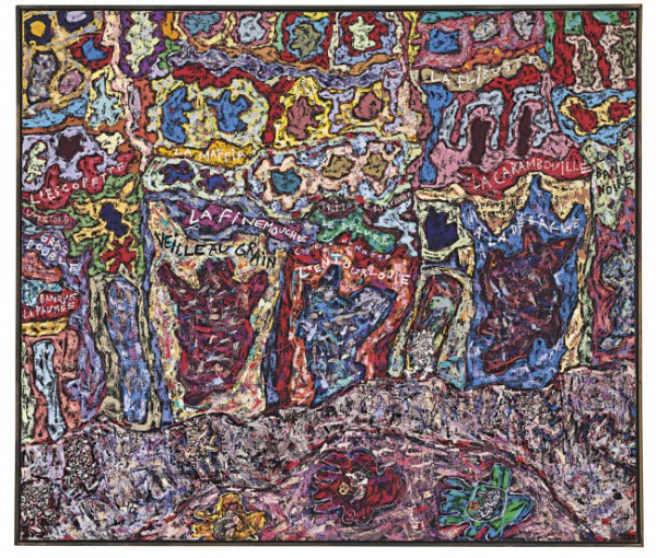 Jean Dubuffet, Paris Polka. Image courtesy Christie's Images, Ltd.
