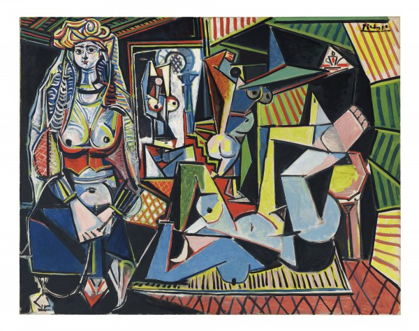 PICASSO FEMMES D'ALGER © 2015 Estate of Pablo Picasso Artists Rights Society (ARS), New York