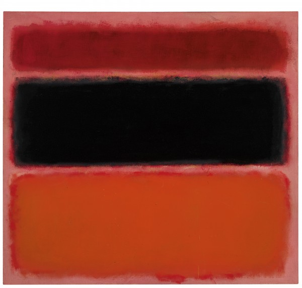 Rothko Burda No. 36 (Black Stripe) ©1998 Kate Rothko Prizel & Christopher Rothko Artists Rights Society (ARS), New York Image courtesy Christie's Images Ltd.