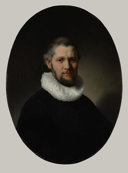 Rembrandt van Rijn, Portrait of a Man, 1632, at The Metropolitan Museum of Art