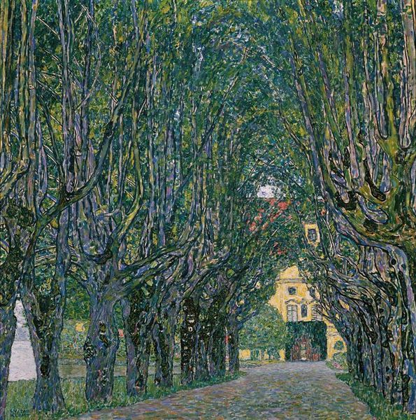 Gustav Klimt, Avenue in the Park of Schloss Kammer