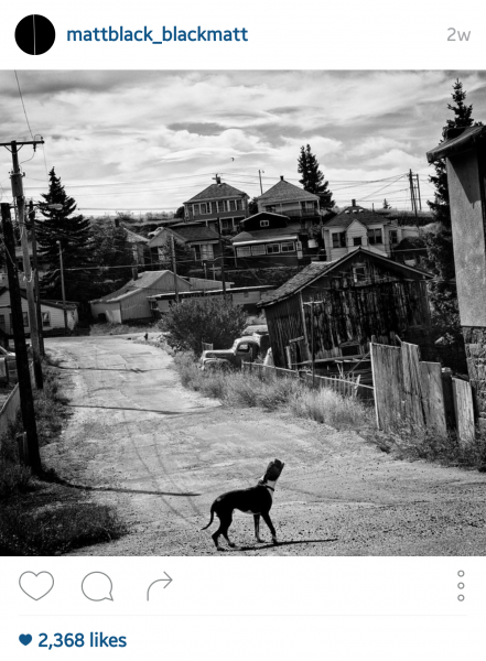 Matt Black, Walkerville, MT, Image © Matt Black