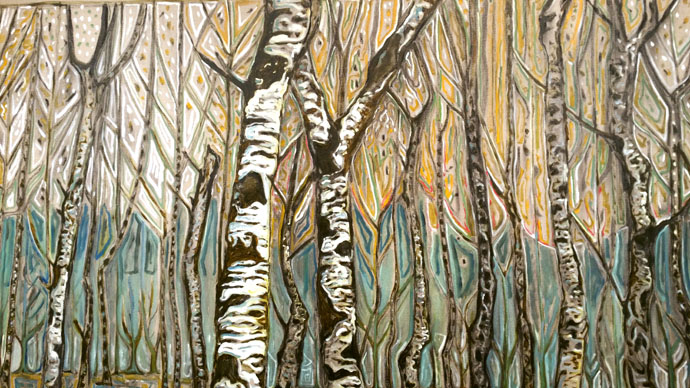 Billy Childish, Birch tree forrest