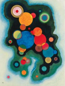 Vertiefte Regung - Deepened Impulse, 1928 by Wassily Kandinsky