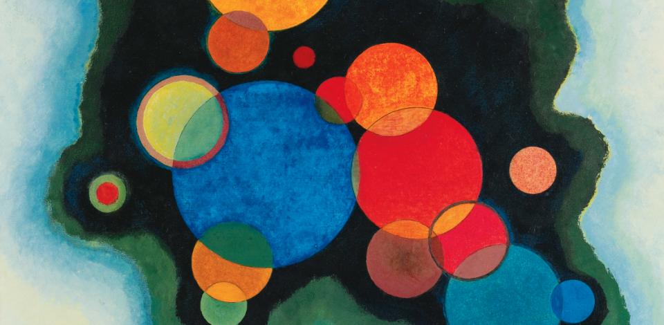 Wassily Kandinsky - Deepened Impulse Detail