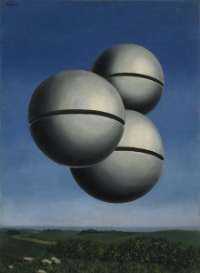 Rene Magritte, Voice of Space (La Voix des airs), 1931 Oil on canvas, 72.7 x 54.2 cm Peggy Guggenheim Collection, Venice