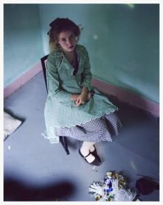Max Kozloff, Francesca Woodman, 1981. C-print, Image courtesy Steven Kasher Gallery