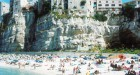 Massimo Vitali, #4874 Tropea Shadow, Calabria, 2015 Courtesy the artist and Benrubi Gallery