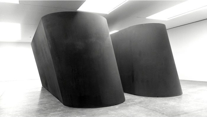 Richard Serra, 'NJ-1' Gagosian Gallery, 21st street. Exterior view, Weatherproof Steel. Image © Kristina Nazarevskaia for galleryIntell