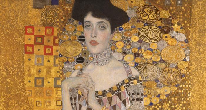 Gustav Klimt, 'Adele Bloch-Bauer I' 1907. Image courtesy Neue Galerie