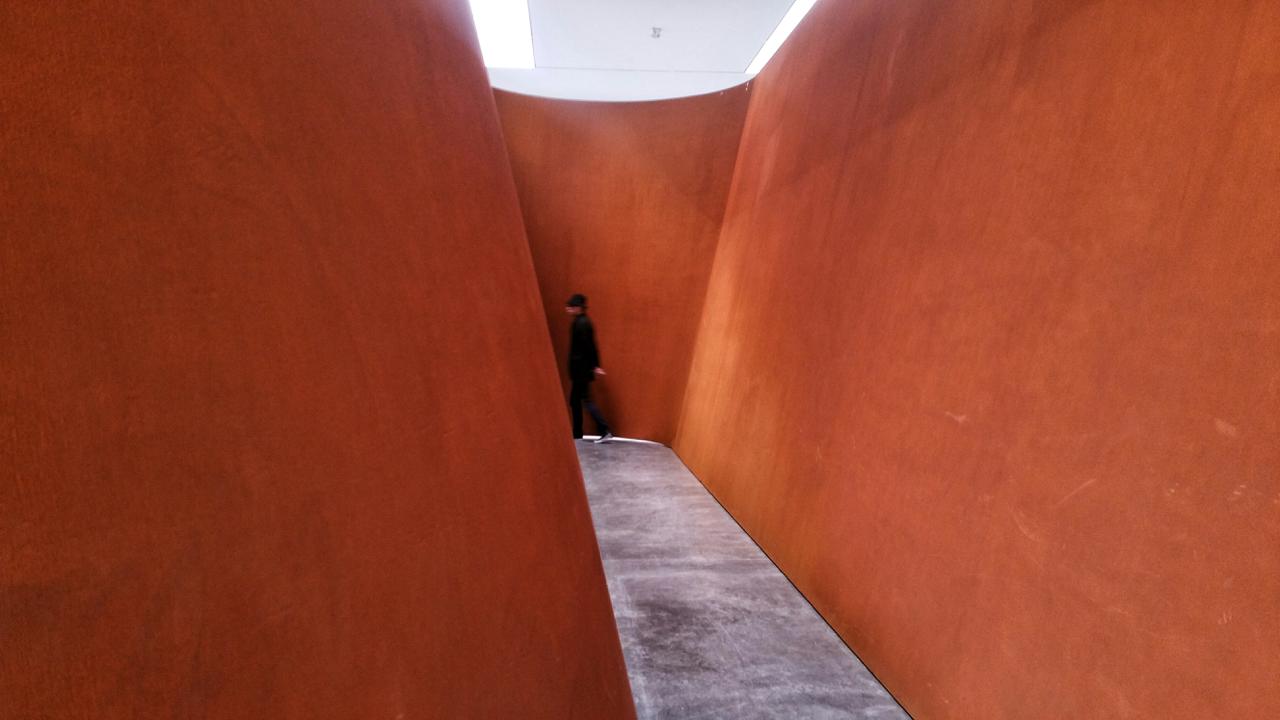 Richard Serra, 'NJ-1', 2015 Exterior view. Image © Kristina Nazarevskaia for galleryIntell