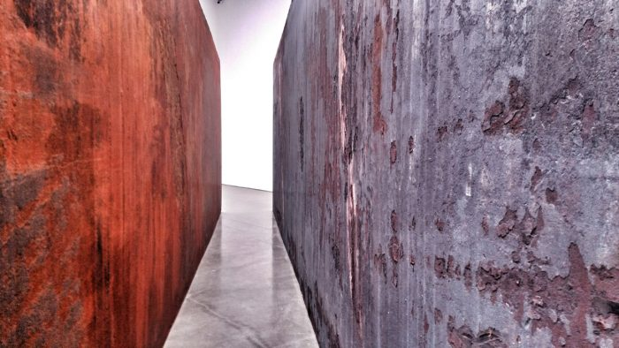 Richard Serra, 'Through', 2015 Interior view. Image © Kristina Nazarevskaia for galleryIntell