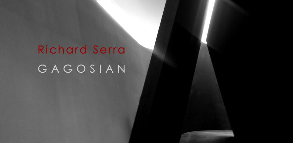 Richard Serra at Gagosian Gallery, 2016