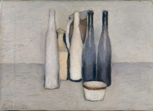 Giorgio Morandi. Still Life, 1957. Oil on canvas. Private Collection, Milan