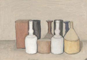 Giorgio Morandi. Natura Morta, 1953 Oil on canvas - galleryIntell