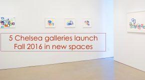 Sharon Louden - Morgan Lehman 2016 gallery installation view