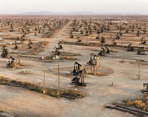 Edward Burtynsky, 'Oil Fields #18, Belridge, California', 2003. Chromogenic Color print. Printed 2010. Courtesy Ed Burtynsky and Howard Greenberg Gallery. AIPAD