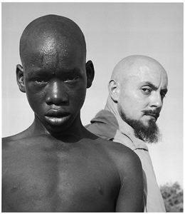 AIPAD 2017. Hector Acebes, Hector Acebes, Unidentified Boy and Hector Acebes, West Africa, 1953. © Hector Acebes. Courtesy G. Gibson Gallery