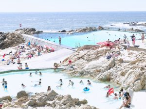 Massimo Vitali, 'Piscina Das Marçs', 2016. © Massimo Vitali. Courtesy the artist and Benrubi Gallery, New York. AIPAD