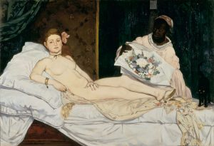 Edouard Manet, 'Olympia', 1863. Musee d'Orsay