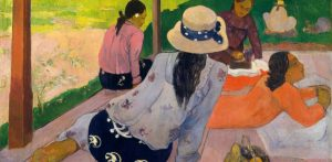 Paul Gauguin, 'The Siesta', 1892. Oil on canvas. Metropolitan Museum