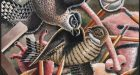 Morgan Bulkeley, 'Sharp-shinned Hawk Mask', 2013 Image © Morgan Bulkeley