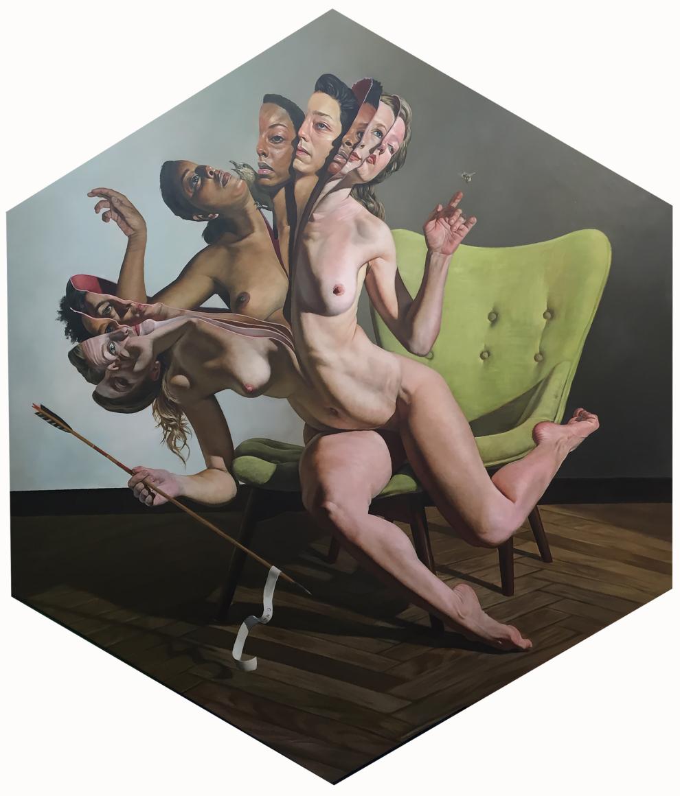 "ERIK THOR SANDBERG, ""Congruity"", 2019 CONNERSMITH. The Armory Show, 2019"