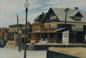 East wind over Weehawken - Edward Hopper