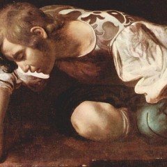 Michelangelo da Caravaggio - Narcissus - galleryIntell