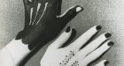 Man Ray, Hands Painted by Picasso, 1935 Photograph courtesy Edwynn Houk Gallery
