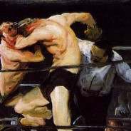 george_bellows_exhibition_metropolitan_museum_stag_at_sharkeys_1909_galleryIntell