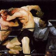 george_bellows_exhibition_metropolitan_museum_stag_at_sharkeys_1909_galleryIntell