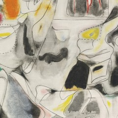 Arshile Gorky, Impatience. Oil on Canvas. Museum of Modern Art, NY