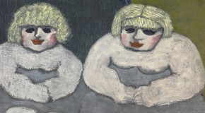Milton Avery, Fat Twins. Image courtesy David Zwirner Gallery