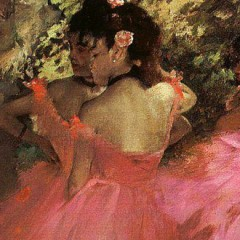 Degas - dancers in pink