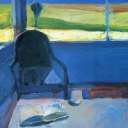 Interior with a Book, 1959. Richard Diebenkorn