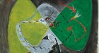 Bird Fascinated by a Snake (Oiseau fasciné par un serpent), 1942 Gouache on paper, 56.5 x 75.5 cm Peggy Guggenheim Collection, Venice 76.2553 PG 108 © André Masson, by SIAE 2008